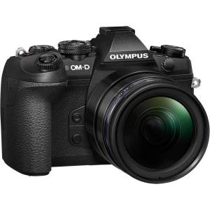 "Olympus OM-D E-M1 Mark II 20.4 Megapixel Mirrorless Camera with Lens - 12 mm - 200 mm - Black - 4/3"" Sensor - Yes - 3"" Touchscreen LCD - Electronic Vi"