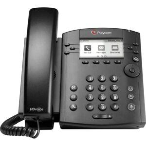 Polycom Poly VVX 300 IP Phone - 6 x Total Line - VoIP - Speakerphone - 2 x Network (RJ-45) - PoE Ports