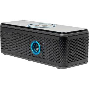 AAXA Technologies BP-100-01 DLP Projector - 16:9 - Space Gray - 640 x 360 - Front - 15000 Hour Normal ModenHD - 1,000:1 - 100 lm - HDMI - USB