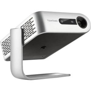 ViewSonic M1 Portable Projector With 1.2 Throw Ratio, Silver/Black