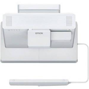 Epson BrightLink 1485Fi Ultra Short Throw LCD Projector - 16:9 - White - 1920 x 1080 - Front, Ceiling - 1080p - 20000 Hour Normal Mode - 30000 Hour Ec