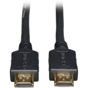 Tripp Lite 25ft High Speed HDMI Cable Digital Video with Audio 1080p M/M 25' - Type A Male HDMI - Type A Male HDMI - 25ft - Black