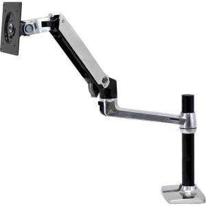 """Ergotron Mounting Arm for Flat Panel Display - Black - 24"""" Screen Support - 20 lb Load Capacity"""