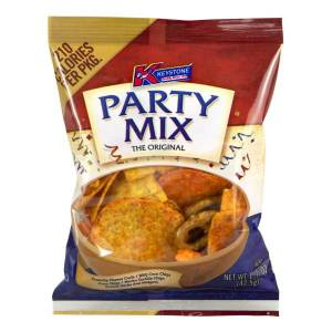 Keystone Party Snack Mix, 1.5 Oz, Box Of 60 Bags