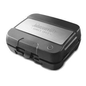 Johnsonville Sizzling Sausage 3-in-1 Indoor Electric Grill, Black/Stainless Steel