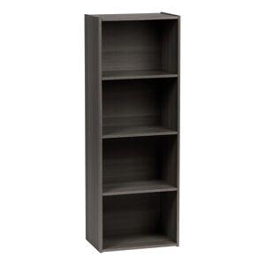 "IRIS 46""H 4-Tier Storage Shelf, Gray"
