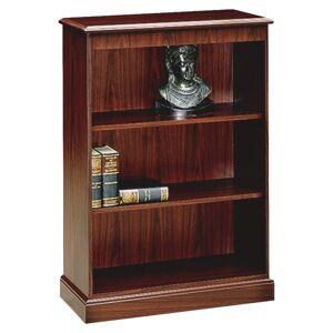 HON 94000 Series 3-Shelf Bookcase, Mahogany
