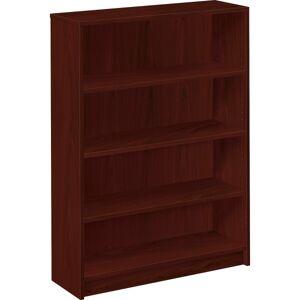 HON 1870-Series Laminate Bookcase, 4 Shelves (3 Adjustable), Mahogany