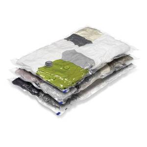 Honey Can Do Honey-Can-Do Vacuum-Pack Storage Bags, Large, Pack Of 3