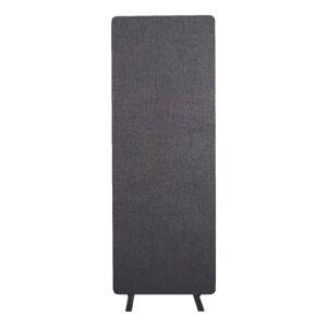 "Luxor RECLAIM Acoustic Privacy Single Panel, 66""H x 24""W, Slate Gray"