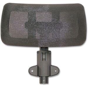 Lorell Multifunction Mesh High-Back Headrest, Black