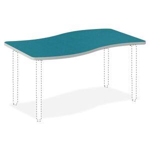 "HON Build Ribbon Table Top, 1 1/8""H x 54""W x 30""D, Blue Agave"