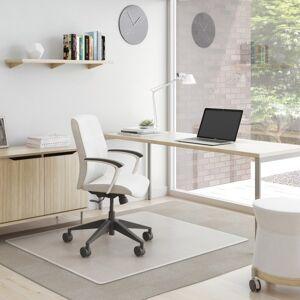 """Deflecto Deflect-O� SuperMat Medium Weight Chair Mat For Carpet, 53"""" x 45"""", Clear"""