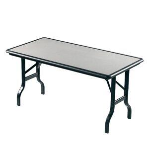 "Iceberg IndestrucTable Folding Table, 30"" x 96"", Granite"