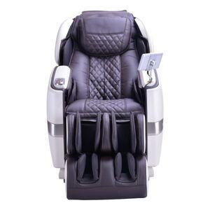 HoMedics Jpmedics Massage Chair, Pearl White/Espresso