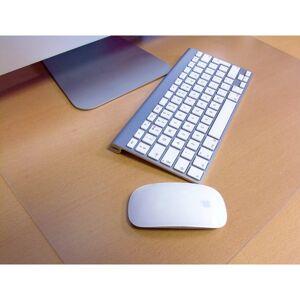 "Floortex Desktex Polycarbonate Anti-Slip Desk Mats, 17"" x 22"", Clear, Pack Of 2"