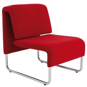 Alba CHCOMFORTR Reception Chair, Red