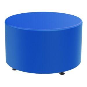 Marco Group Sonik Round Ottoman, Pool Blue
