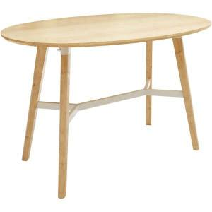 """Safco Resi Bistro Table, 42-1/2""""H x 65""""W x 42""""D, Natural"""