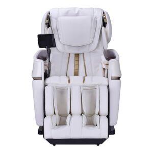 HoMedics Ogawa Stretch 3D Massage Chair, Ivory/Gold