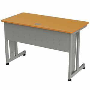 "Linea Italia, Inc. 48""W Training Table, Gray/Maple"