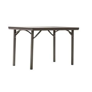 """Cosco Folding Table, Rectangle, 30""""H x 48""""W, Brown"""
