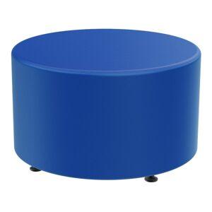 Marco Group Sonik Round Ottoman, Royal Blue
