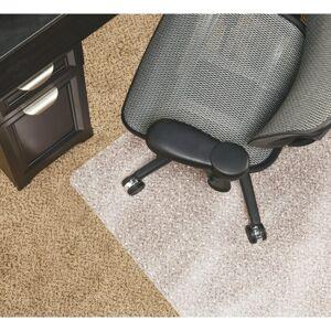 "Realspace Chair Mat For Medium-Pile Carpet, Rectangular, 36""W x 48""D, Clear"