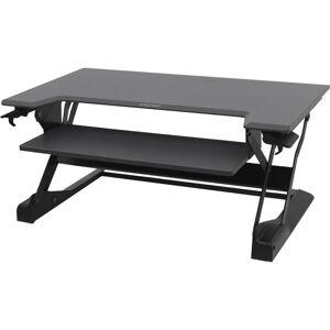 Ergotron WorkFit-TL Sit-Stand Desktop Workstation, Black