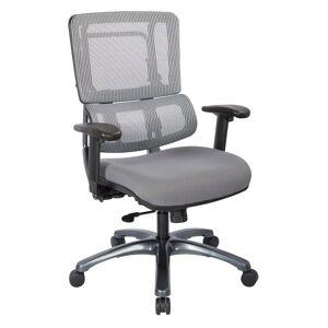 Pro-Line II Pro X996 Vertical Mesh High-Back Chair, Gray/Dove Steel/Gun Powder