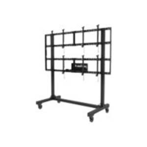"Peerless-AV Portable Video Wall DS-C560-2X2 - Cart for 4 LCD / plasma panels - aluminum - black powder coat - screen size: 46""-60"""