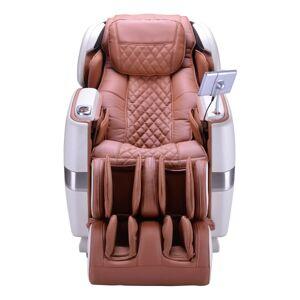 HoMedics Jpmedics Massage Chair, Pearl White/Cappuccino