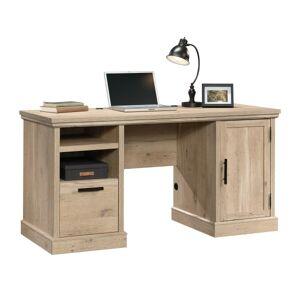 "Sauder Aspen Post 59""W Computer Desk, Prime Oak"