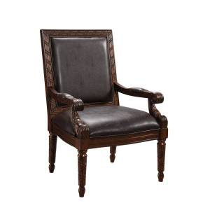 Coast to Coast Accent Chair, Brown