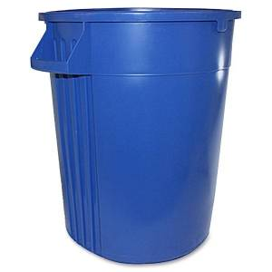 "Gator 44-gallon Container - Lockable - 44 gal Capacity - Crush Resistant, Impact Resistant - 31.6"" Height x 23.8"" Width - Polyethylene Resin, Plastic"