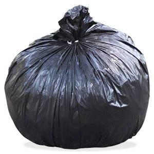"""Stout Total 1.5 mil Trash Bags, 45 gal, 36""""H x 58""""W, 100% Recycled, Brown, 100 Bags"""