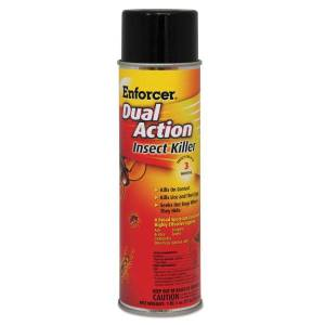 ZEP INC. Enforcer Dual-Action Insect Killer, 17 Oz, Pack Of 12 Cans