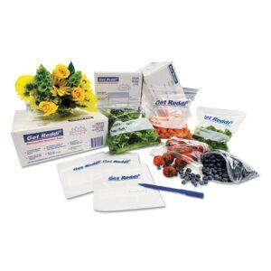 """Get Reddi Inteplast Group Get Reddi Food Storage Bags, 15"""" x 8"""", Clear, Pack Of 1,000 Bags"""