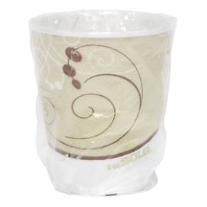 Dart Trophy Plus Dual-Temperature Cups, 9 Oz, Symphony Design, Pack Of 900 Cups
