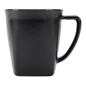Foundry Soho China Mugs, 12 Oz, Black, Pack Of 24 Mugs
