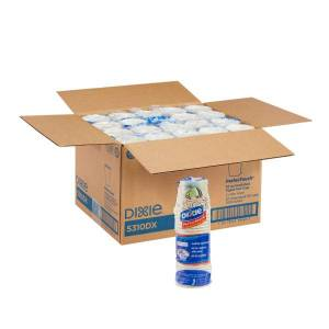 Dixie PerfecTouch by GP PRO Hot Cups, 10 Oz, Case Of 500 Cups