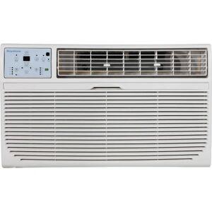 "Keystone 230V Through-The-Wall Air Conditioner With Heat, 12,000 BTU, 14 1/2""H x 24 3/16""W x 20 5/16""D, White"