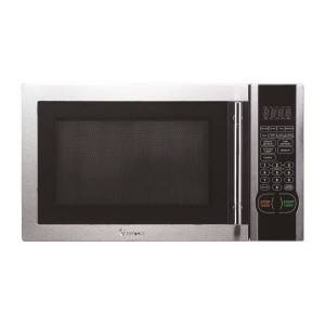 Magic Chef 1.1-Cubic Foot Countertop Microwave, Stainless Steel