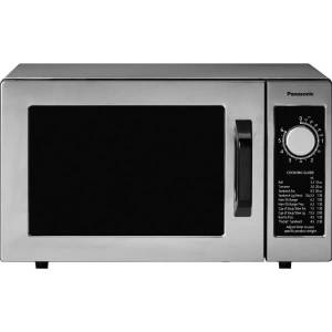 Panasonic 1000 Watt Commercial Microwave Oven NE-1025F - Single - 5.98 gal Capacity - Microwave - 1000 W Microwave Power - 120 V AC - Stainless Steel