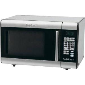 "Cuisinart Stainless Steel Microwave - Single - 7.48 gal Capacity - Microwave - 1000 W Microwave Power - 12"" Turntable - Countertop - Stainless Steel"