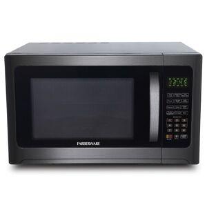 Farberware FMO12AHTBSG 1.2 Cu Ft Microwave Oven, Stainless Steel/Black