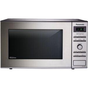 "Panasonic NN-SD372SR Microwave Oven - Single - 5.98 gal Capacity - Microwave - 10 Power Levels - 950 W Microwave Power - 11.22"" Turntable - 120 V AC -"