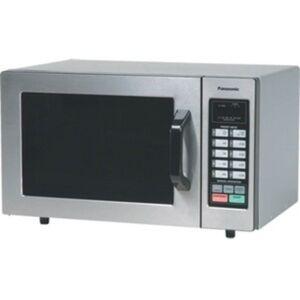 Panasonic 1000 Watt Commercial Microwave Oven with 10 Programmable Memory NE-1054F - Single - Medium Size - 5.98 gal Capacity - Microwave - 6 Power Le