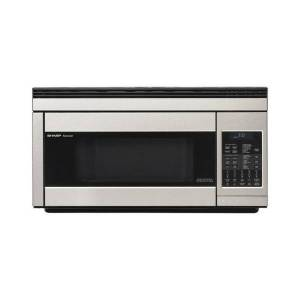 Sharp R1874T 1.1 Cu Ft Over-The-Range Microwave, Stainless Steel