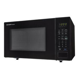 Sharp Carousel 1.4 Cu Ft Microwave Oven, Black
